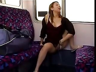 Pissing in public on a train