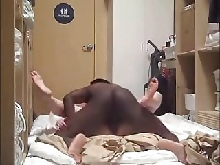 Someones wife on her back