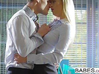 Babes - Office Obsession - The Long Goodbye starring Cayla L