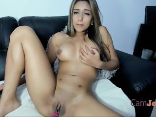 webcam latina goddess with big natural tits masturbating