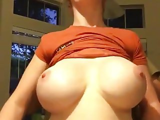 Beautiful bigtits MILF Boltonwife doggystyle tits play