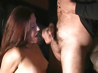 Mature at porn cinema