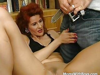 MILF Plays Pussy Sucks Cock Anal Fucked