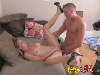 FakeAgentUK Unexpected threesome surprise from cheating wife