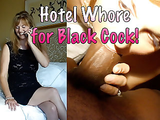 Hotel Whore for Black Cock!