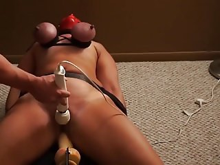 Dildo and punished