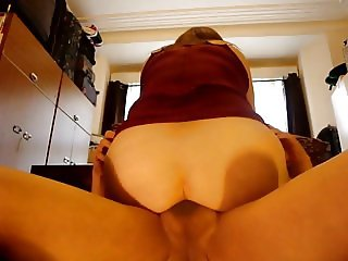 mi wife bombing me with her ass