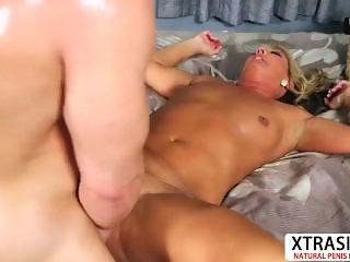 Cougar Aunty Mia Morgan Take Cock Sweet Hot Son