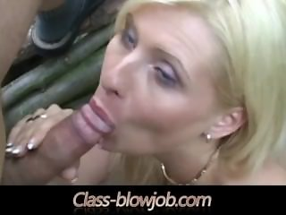 Blowjob and Rimjob licking ass and swallowing cum in the outdoors