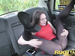 Fake Taxi Amazing deepthroat gagging brunette
