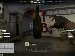 Timid boy gets it while playing cs go