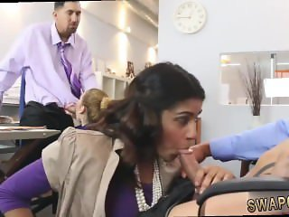 boss's daughter throat fuck hot daddy gag
