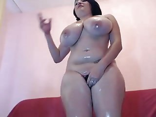 Oil Titty Jiggle