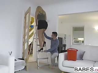 Babes - Step Mom Lessons - Step Up starring Sam Bourne and K