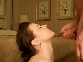 Homemade cumshot compilation with big facials