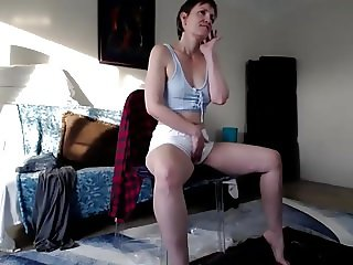 Mature Yoga Instructor Masturbation