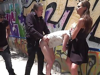 Molly Saint Rose Fucked and Shamed in a Public Subway