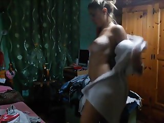 Sexy Girl Changing