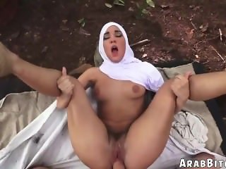 Arab muslim girl cock sucking first time