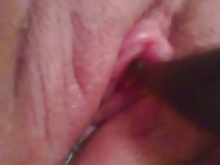Clit Enlarged and vibrator
