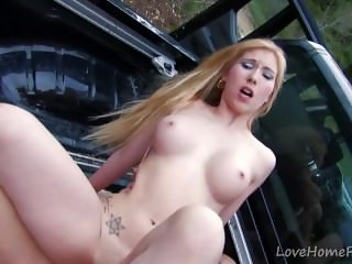 Innocent Looking Young Girl Takes Cock In The Ass