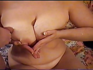 Busty MILF Gets A Hot Pearl Necklace