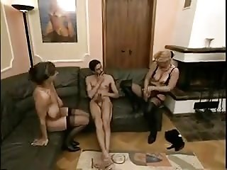 Two mature share cock
