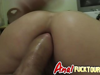 Firm ass destroyed with monster dick