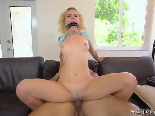 Blue nails blowjob Kimberly Moss gets