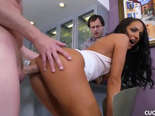 Sofi Makes Her Cuckold Husband Watch To See What a Loser He Really Is