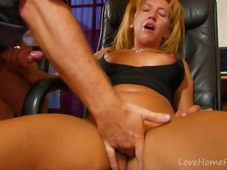Fucking A Curvy Blonde Milf In The Ass