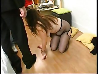 French BBW Emilie gangbanged