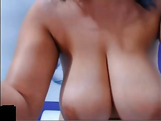 Beautiful Colombian Shows Off Her Big Tits and Curvy Ass