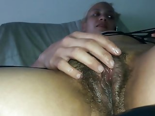 Exposed Skank Maria Hairy Pussy