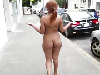No Fcks Given, Ass Out Walking in Public