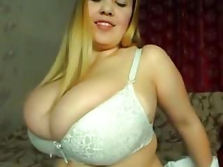 Blondie with big soft tits