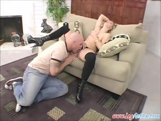 Leah Luv Sucks Cock And Squirts