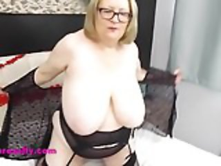 Sally is your big tits Valentine