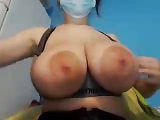 HUGE MILKY TITS WITH LARGE AREOLAS