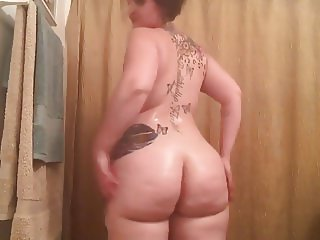 PAWG oil and tease