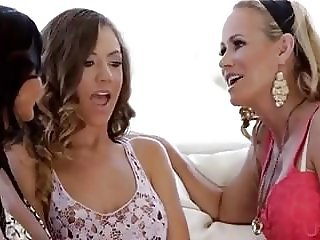 Two Hot And Horny Milf Ava Addams And Her Friend Having Lesb