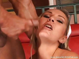 Horny Housewife Big Time Swinger
