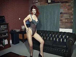 EVER SO LONELY - exotic strip dance tease & wank