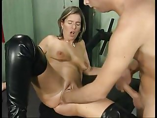 German slut fisting