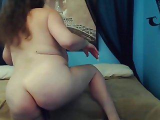Hot loud moaning Mariah with huge bouncing tits gets cum