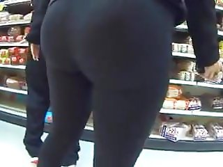 Latin ass in Black
