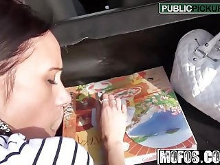 Girl Liliane - Pounding the Pizza Delivery - Public Pick Ups