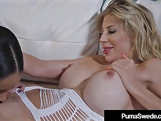 Hot Busty Blonde Puma Swede StrapOn Fucked By Havanna Ginger