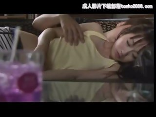 stepdad seducing his daughter sleeping on sofa