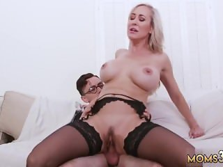 Footjob handjob blowjob by mom xxx